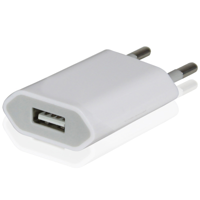 Connecteur de charge universel usb Blanc